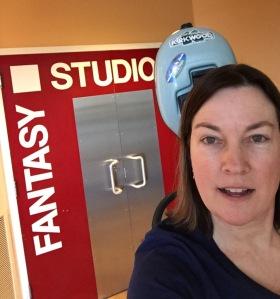 Fantasy Studio selfie (Feb 2016)